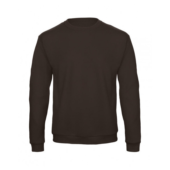 Sweatshirt Unisex B&C Collection Brown