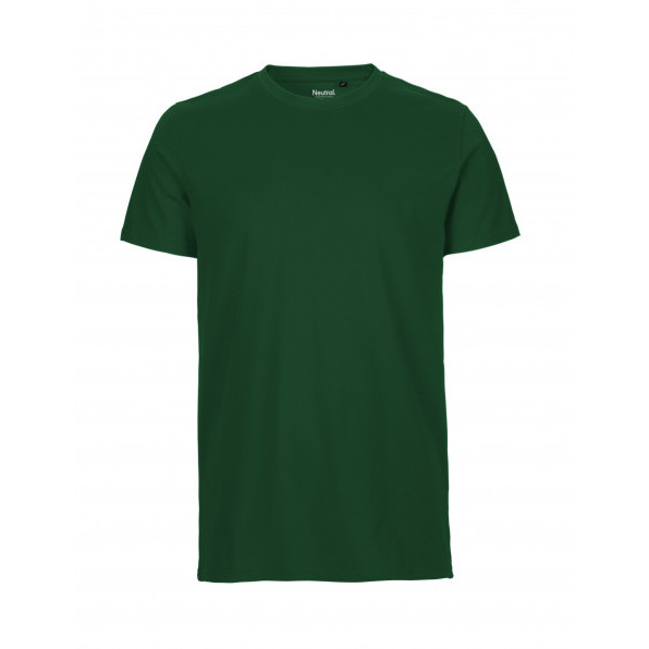 Organic Men`s Fit T-Shirt Neutral Bottle Green