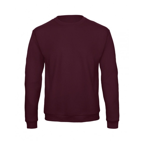 Sweatshirt Unisex B&C Collection Burgundy