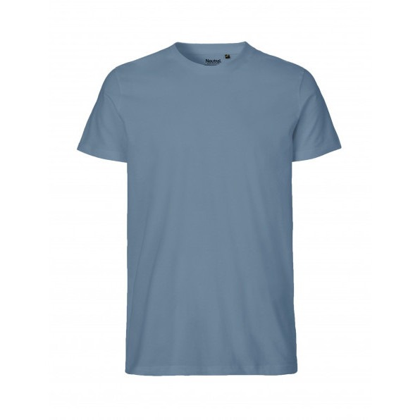 Organic Men`s Fit T-Shirt Neutral Indigo