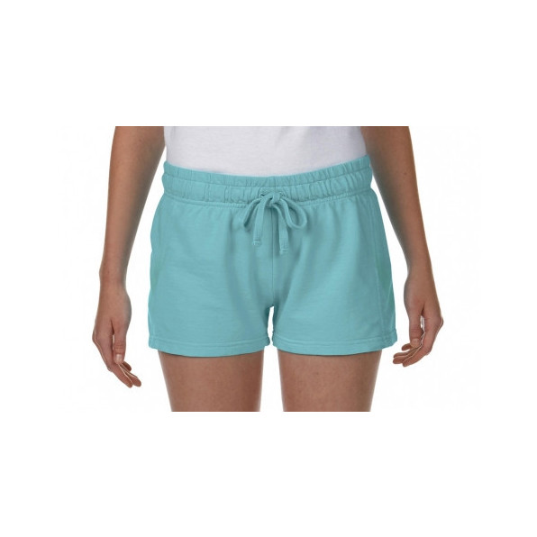 Ladies French Terry Shorts Chalky Mint