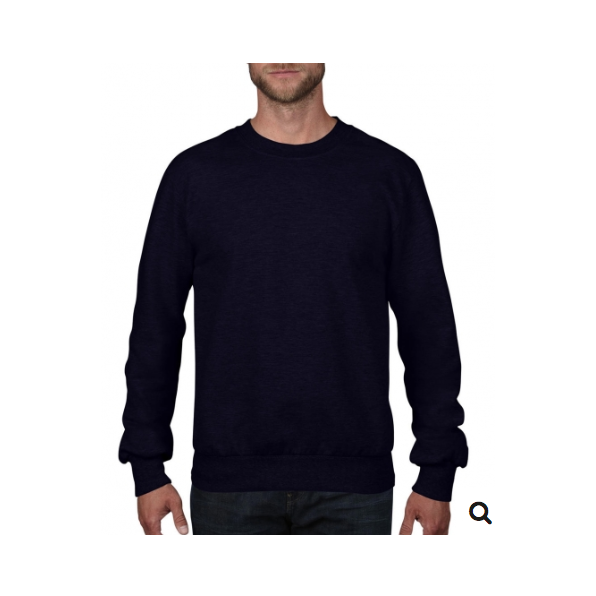 Adult French Terry Crewneck Sweat Navy
