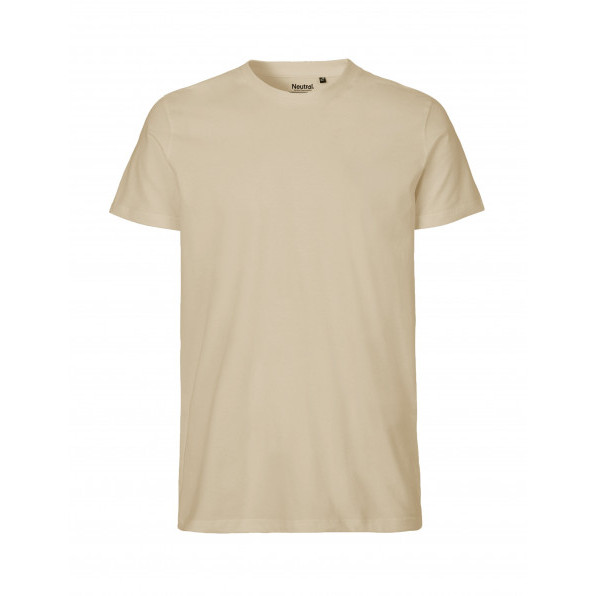 Organic Men`s Fit T-Shirt Neutral Sand