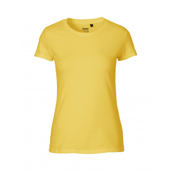 Organic Ladies Fit T-Shirt Neutral Yellow