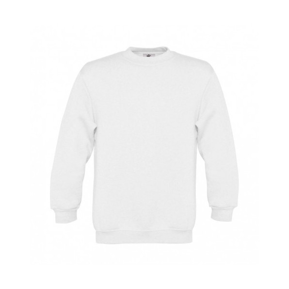 Sweatshirt Barn B&C White
