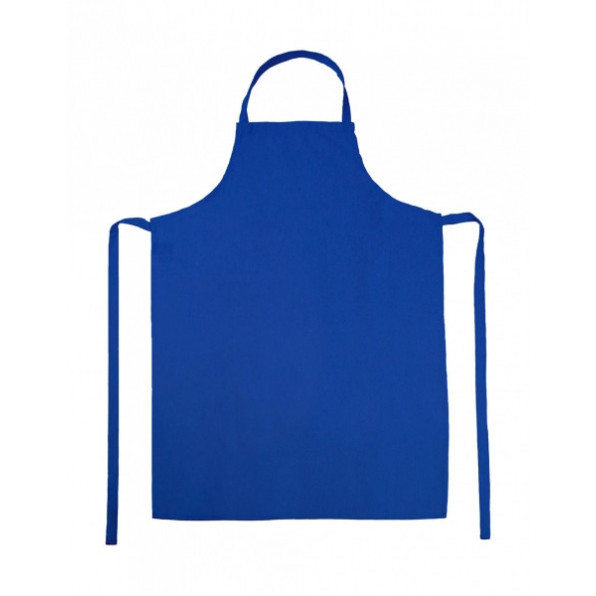 Paris Bib Apron Royal Blue