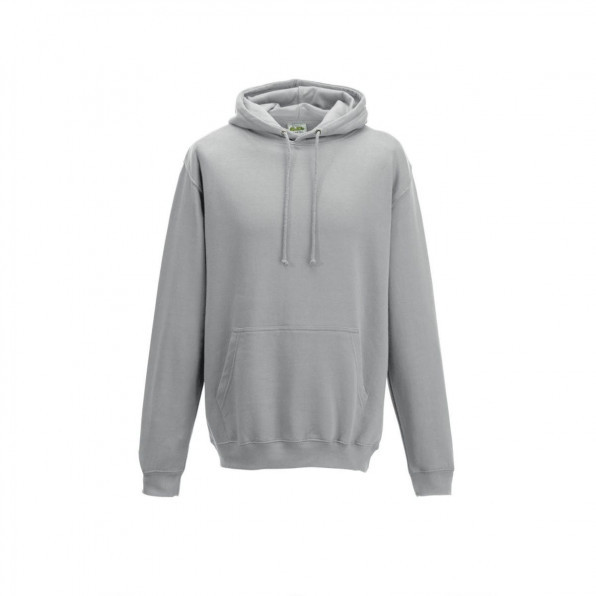 Huvtröja College Heather Grey