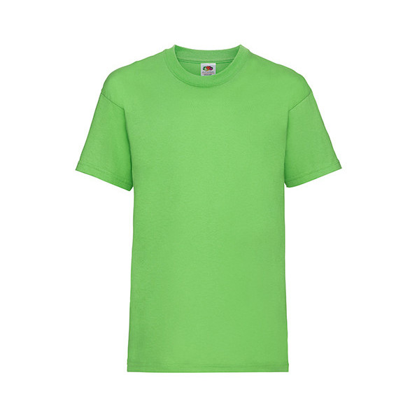 Kids Valueweight T Lime