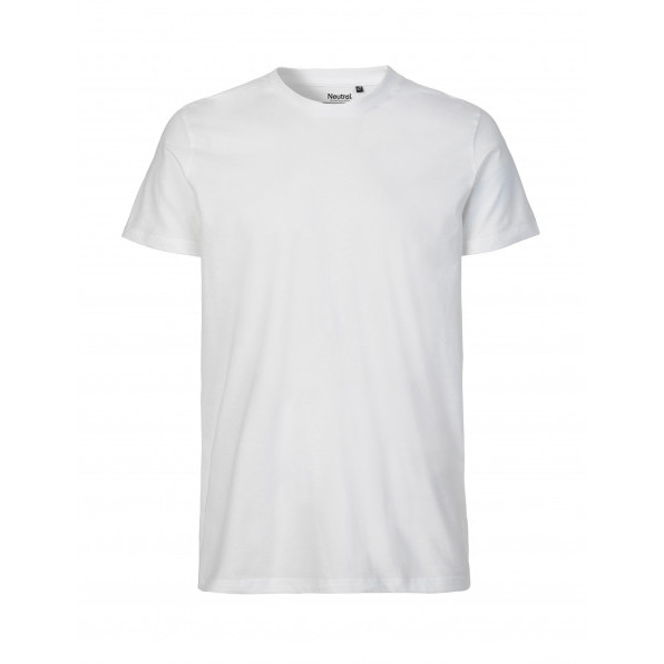 Organic Men`s Fit T-Shirt Neutral Vit
