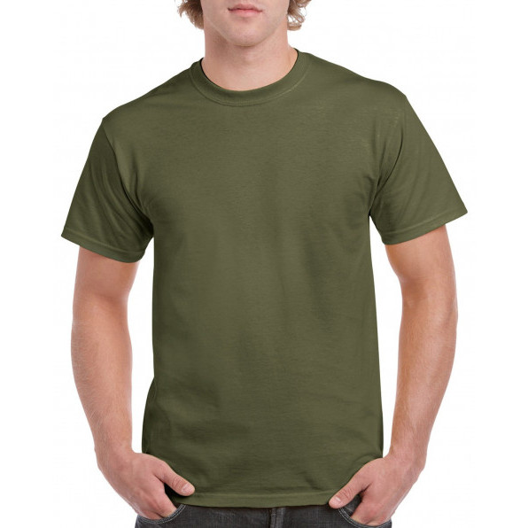 T-shirt Heavy Cotton Military Green