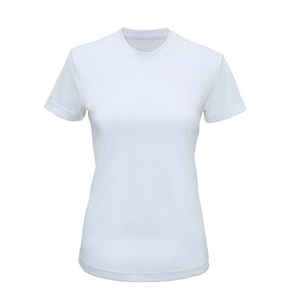TriDri® performance t-shirt Dam TR020 Vit