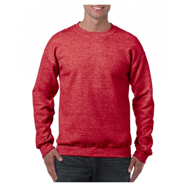 Sweatshirt Standard Heather Sport Scarlet Red