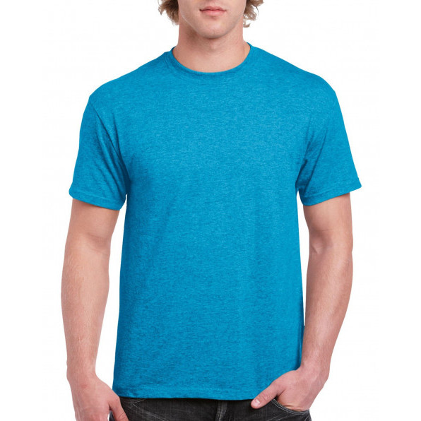 T-shirt Heavy Cotton Heather Sapphire