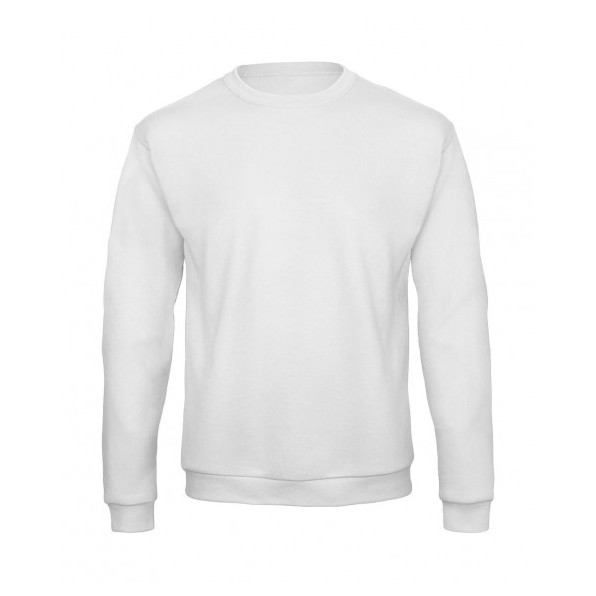 Sweatshirt Unisex B&C Collection White
