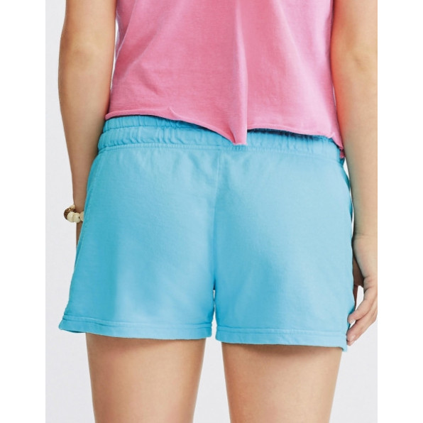 Ladies French Terry Shorts Charcoal