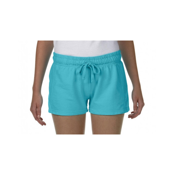 Ladies French Terry Shorts Lagoon