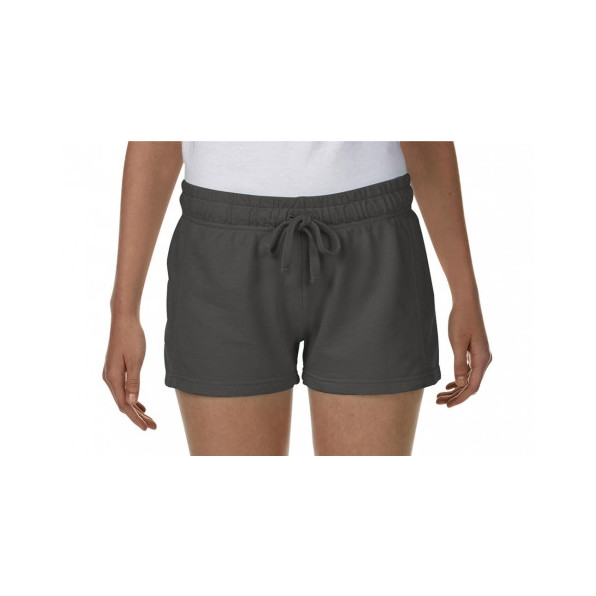 Ladies French Terry Shorts Pepper