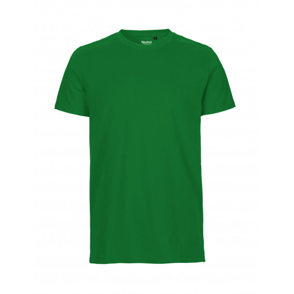 Organic Men`s Fit T-Shirt Neutral Green