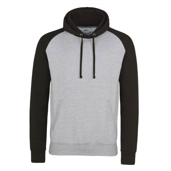 Baseball hoodie AWD Heather Grey/Jet Black