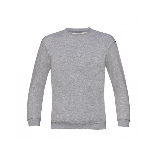 Sweatshirt Barn B&C Heather Grey