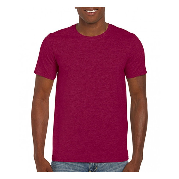 T-shirt Standard Heather Cardinal