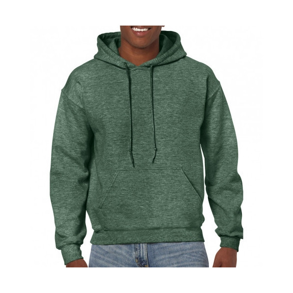 Huvtröja Standard Heather Sport Dark green