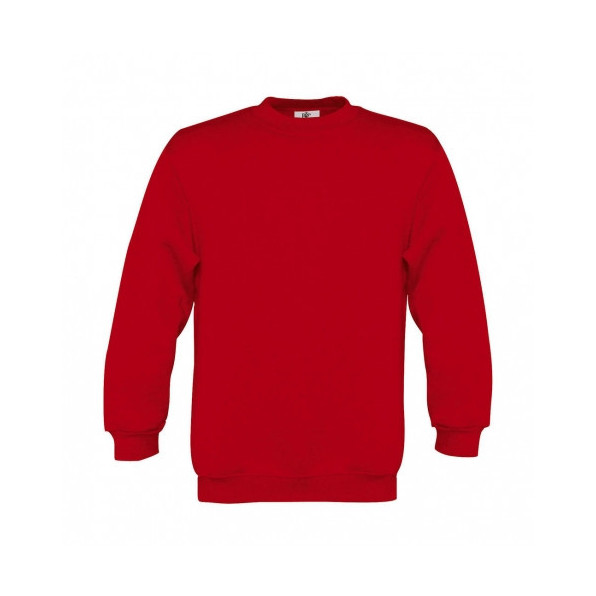 Sweatshirt Barn B&C Red