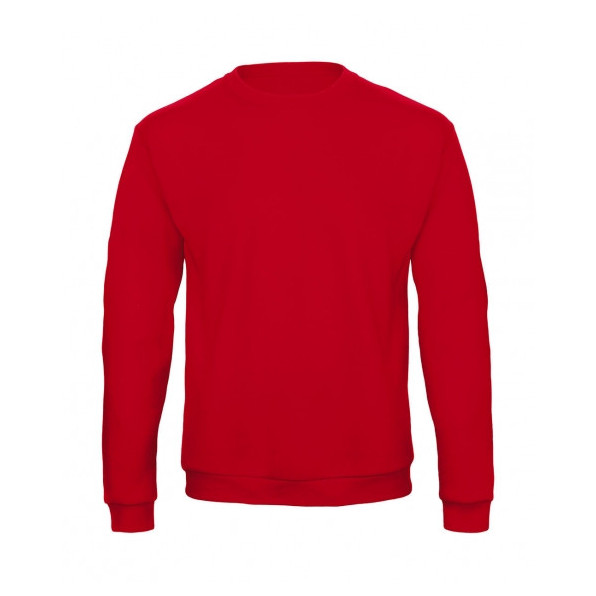 Sweatshirt Unisex B&C Collection Red