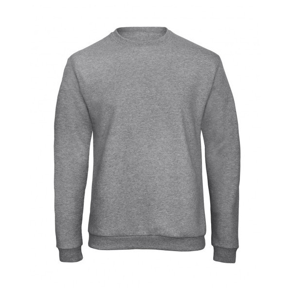 Sweatshirt Unisex B&C Collection Heather Grey