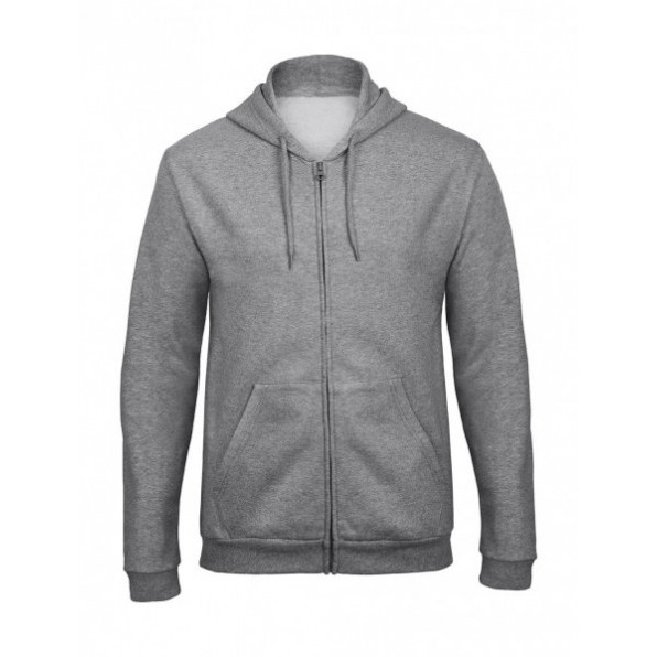 Ziphood ID.205 Unisex Heather Grey