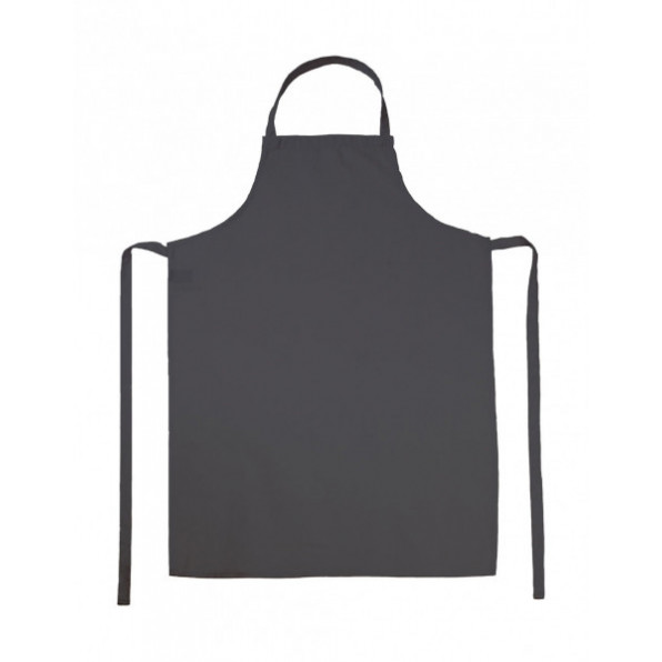 Paris Bib Apron Grey