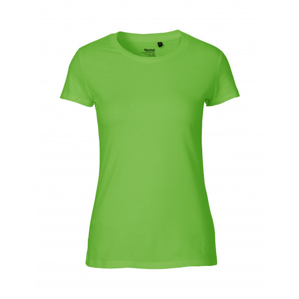 Organic Ladies Fit T-Shirt Neutral Lime