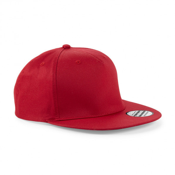 5 Panel Snapback Classic Red