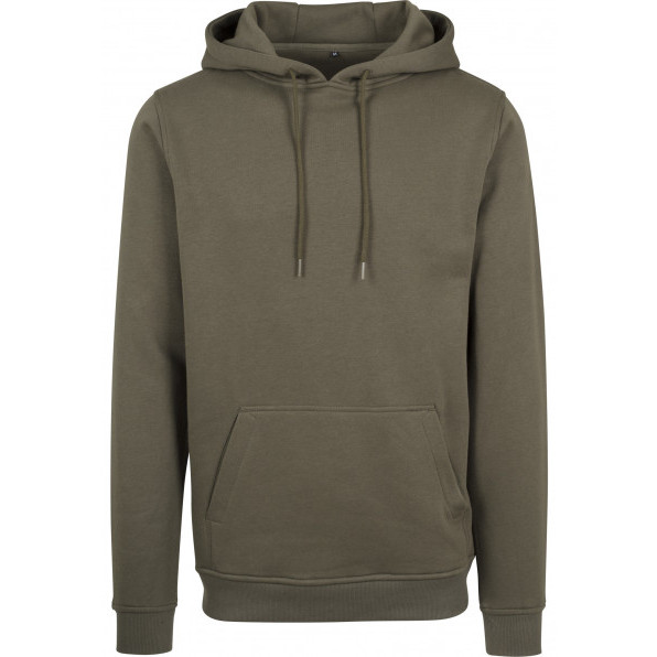 Heavy Hoody Build Your brand Olive green