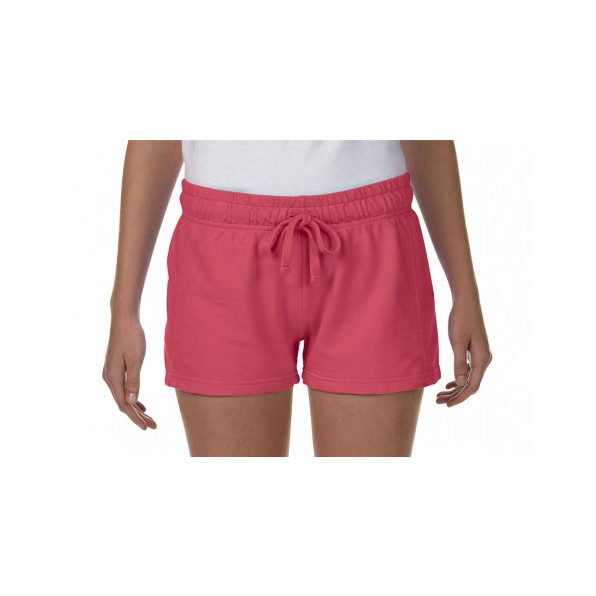 Ladies French Terry Shorts Watermelon