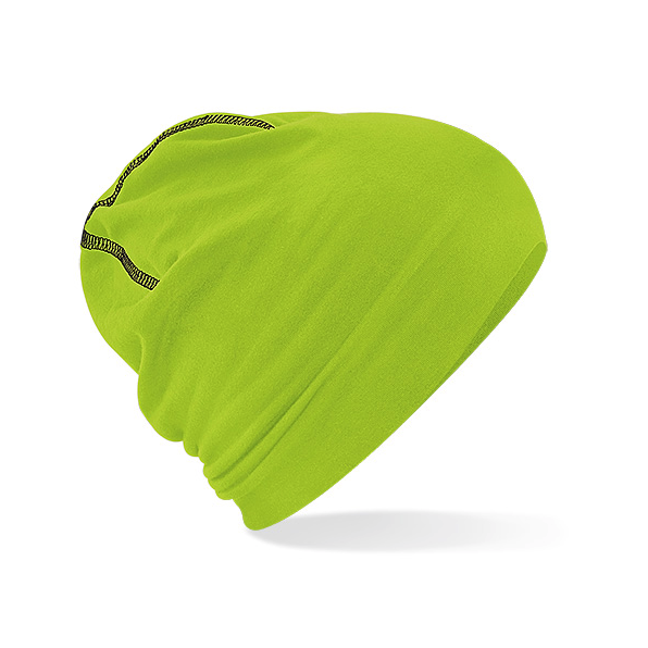 Hemsedal Cotton Beanie Lime