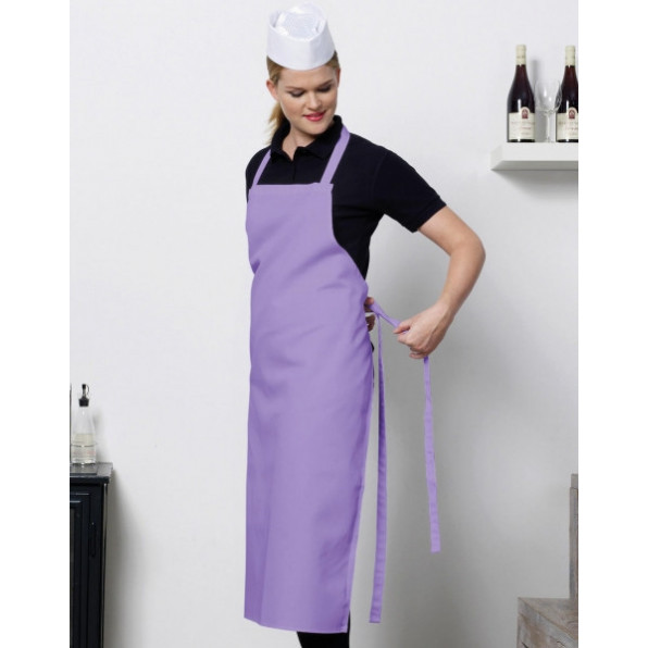 Paris Bib Apron Purple