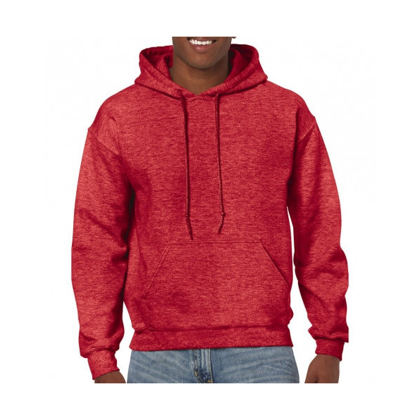 Huvtröja Standard Heather Sport Scarlet Red