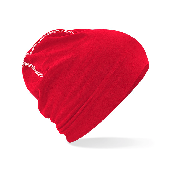 Hemsedal Cotton Beanie Red