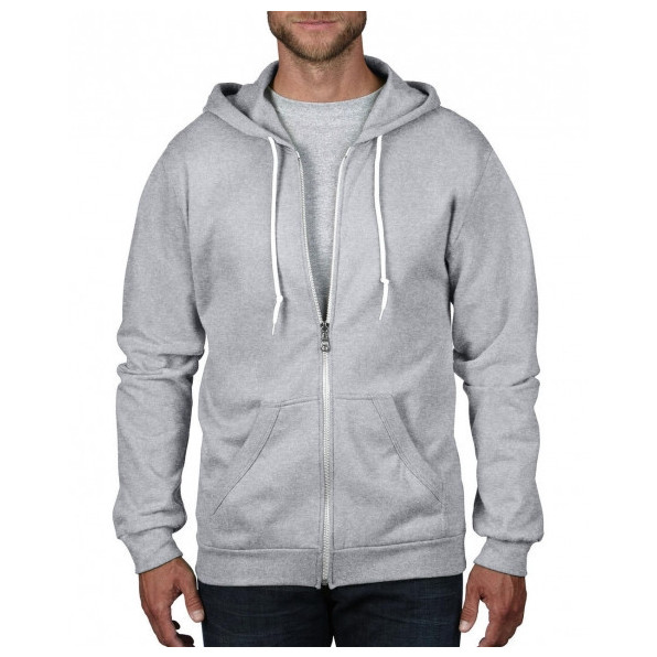 Ziphood Fashion Unisex Heather Grey