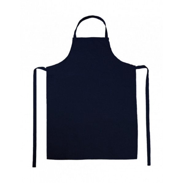 Paris Bib Apron Navy