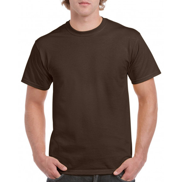 T-shirt Heavy Cotton Dark Chocolate