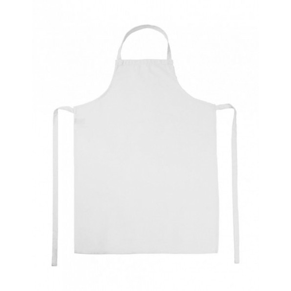 Paris Bib Apron White
