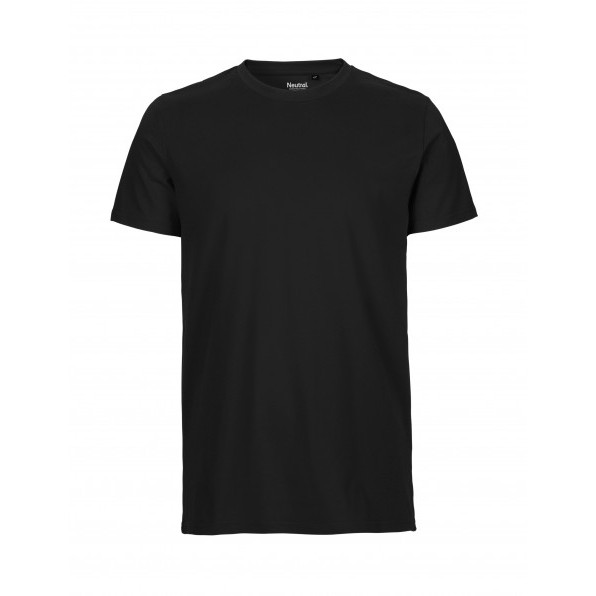 Organic Men`s Fit T-Shirt Neutral Black