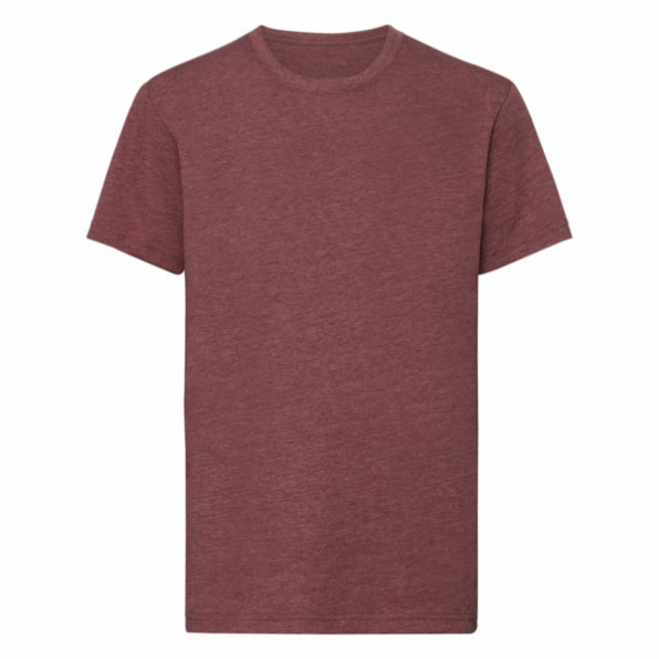 Russell Children's HD T Heather Sport Maroon
