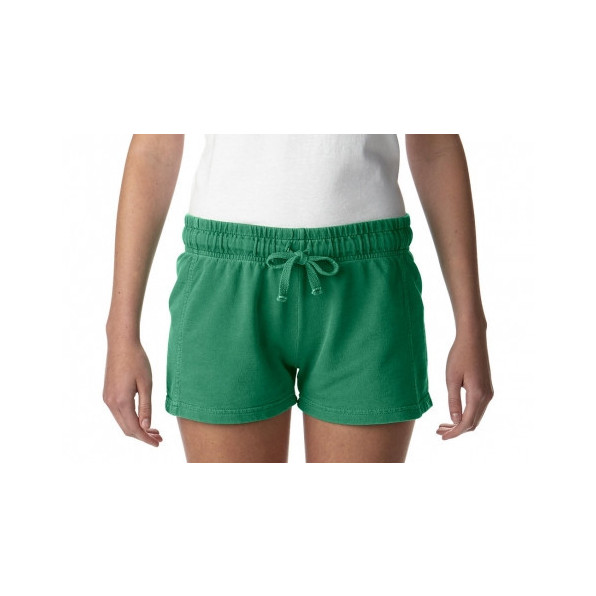 Ladies French Terry Shorts Grass