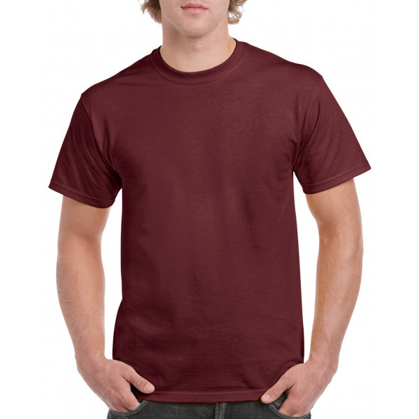 T-shirt Heavy Cotton Maroon