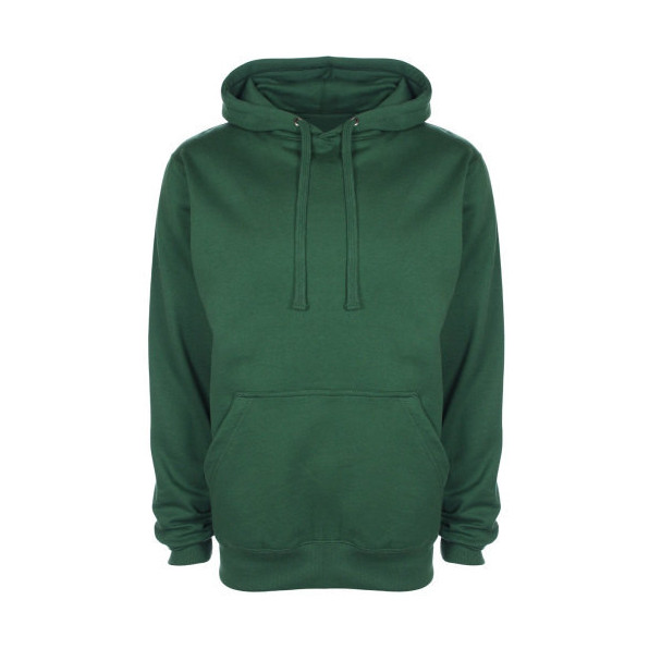 FDM Tagless Hoodie Forest Green