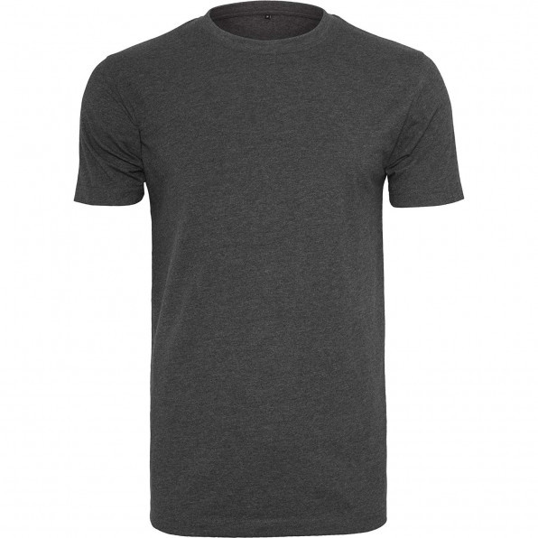 T-shirt round-neck BY004 Charcoal