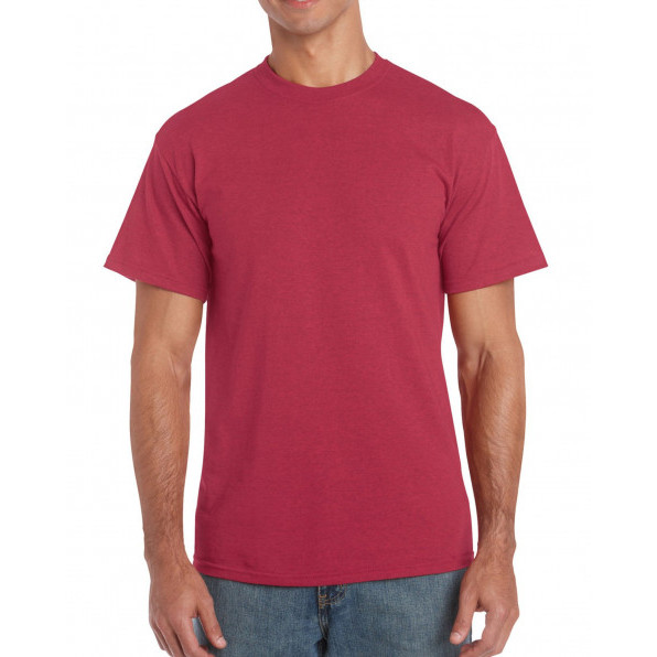 T-shirt Heavy Cotton Antique Cherry Red